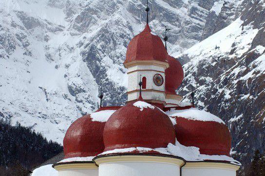 Die Dächer von St. Bartholomä