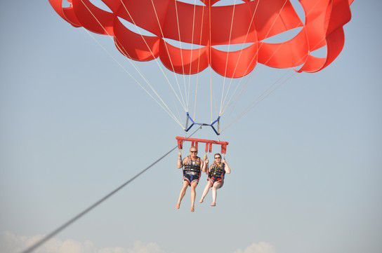 Paragliding in Side