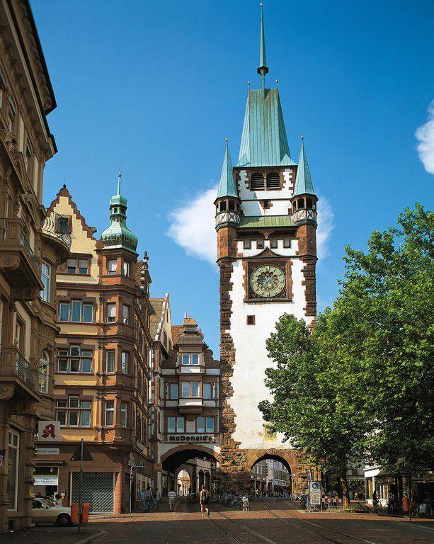 Das Martinstor - Freiburg