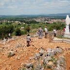 Pilgerstätten in Bosnien-Herzegowina locken vor allem junge Menschen an.