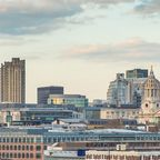 Ausblick über London mit St. Paul