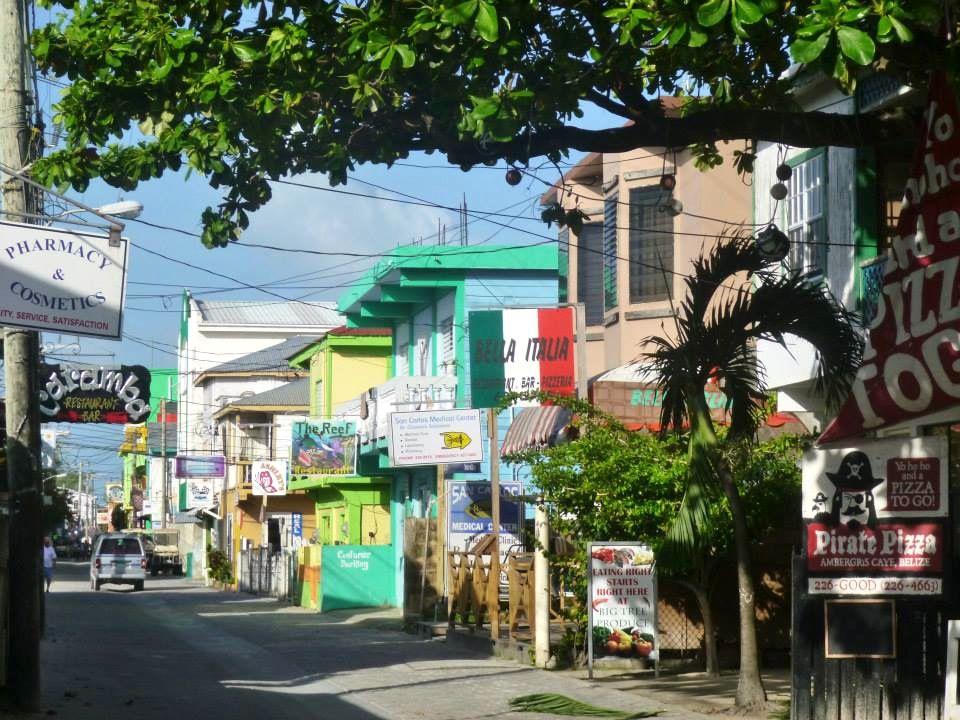 San Pedro auf Amerbgris Caye