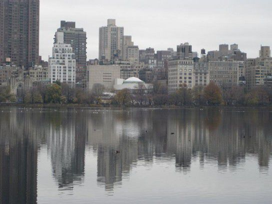 NY - Central Park bei Regen