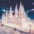 Hogwarts-Miniatur in den Warner Bros. Studios in London