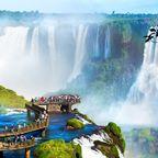 Iguazú Falls - Wasserfälle im Regenwald