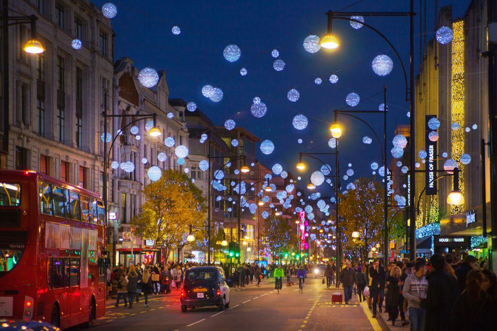 London: Frohe Weihnachten mit Cool Britannia