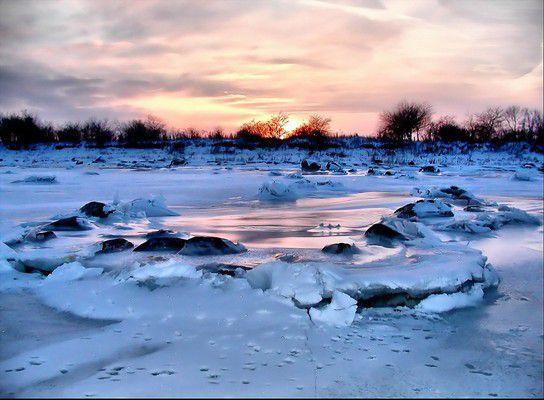 Winterstimmung am Greifswalder Bodden