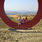 Kunstwerk bei  San Gimignano