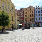Sudeten: Marktplatz von Schweidnitz