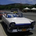 Oldtimer-Taxi in Havanna