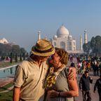 Das Taj Mahal gilt als Symbol der Liebe, denn aus diesem Grund wurde es errichtet
