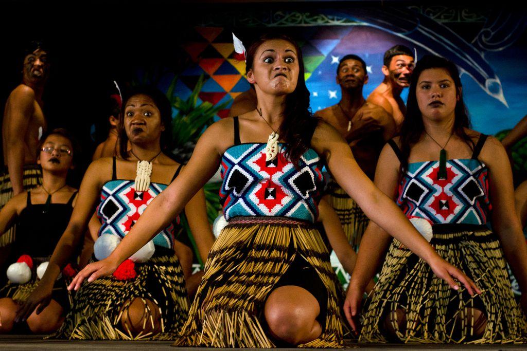 Maoris am Waitangi Day