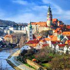 Die beliebteste Burg Tschechiens thront über Český Krumlov