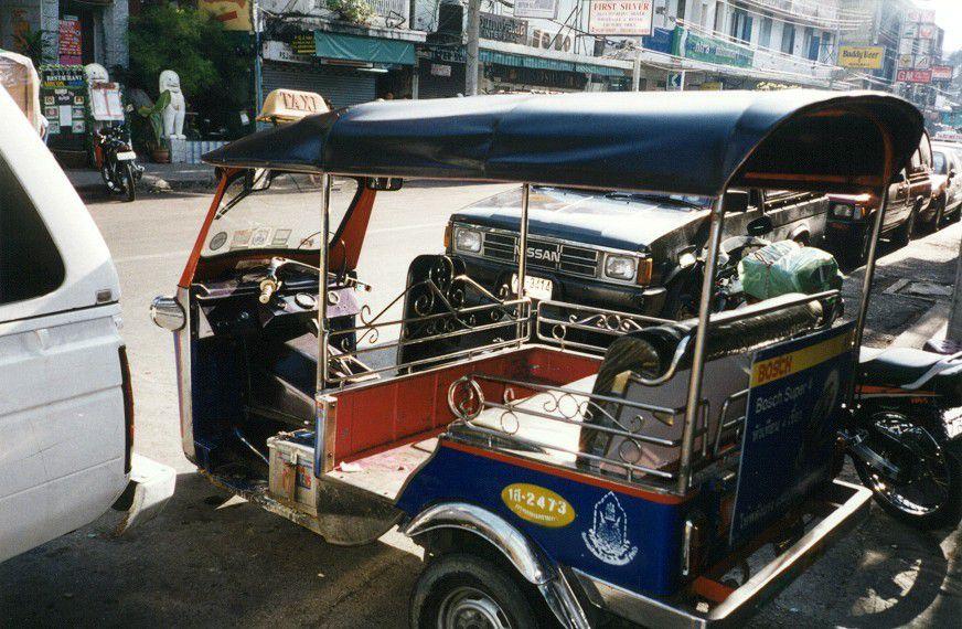 Tuk Tuk Wheel in Bangkok