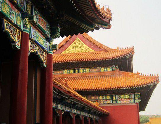 Die verbotene Stadt in Peking