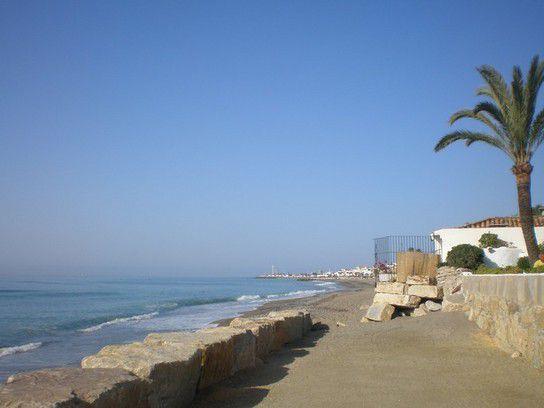 Am Strand von Marbella