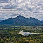 Vom Berg Sigiriya