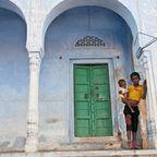 Kinder in Pushkar