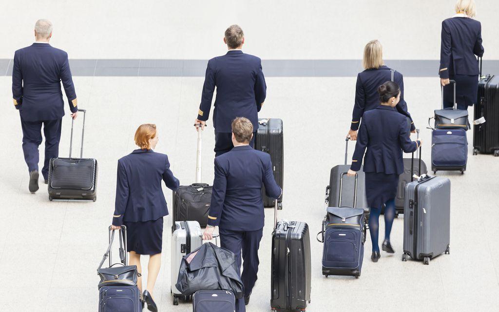 Interkontinentaler Arbeitsplatz für Piloten und Flugbegleiter