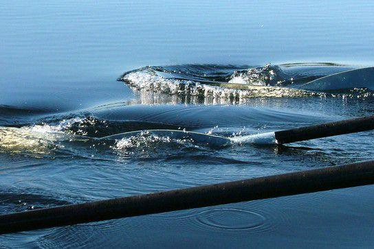 Saubere Wasserarbeit