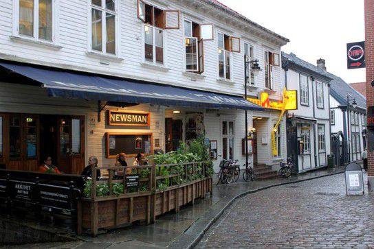 Die Straßen von Stavanger - Newsman