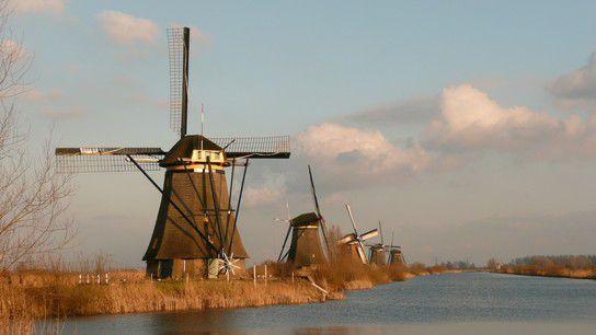 Windmühlen von Kinderdijk NL