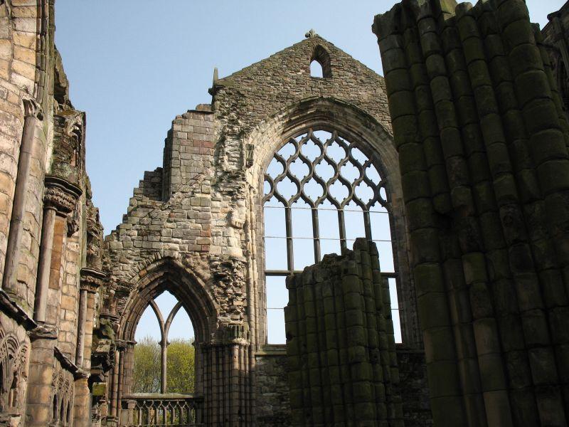Ruine der Holyrood Abbey