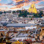 Frühling in Paris: Sacré-Coeur de Montmartre