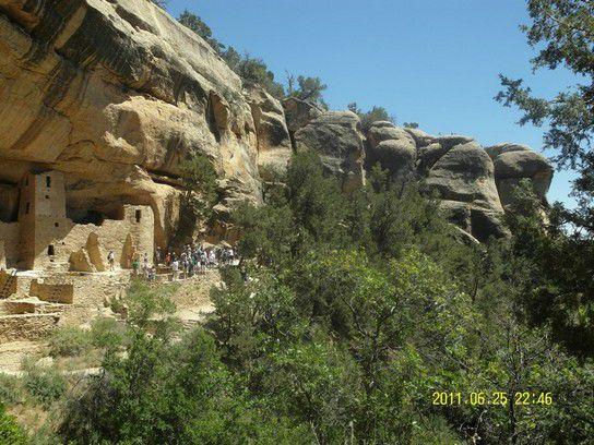 Cliff Palace im Mesa Verde Nationalpark, Colorado