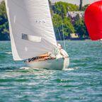 An windigen Tage macht das Segeln auf dem See besonders viel Spaß.