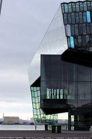 Harpa - Konzerthaus und Konferenzzentrum in Reykjavík