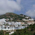 Blick auf Frigiliana / Andalusien