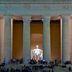 Lincoln Memorial in der Dämmerung