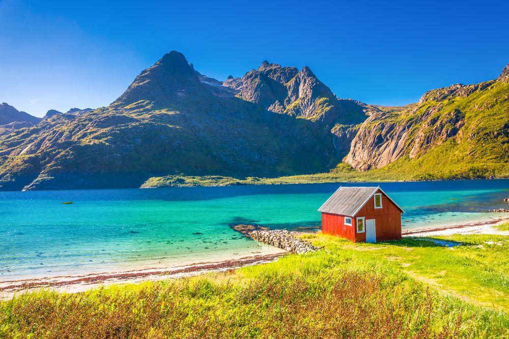 Die Lofoten in Norwegen sind nicht nur im Winter ein Traum.