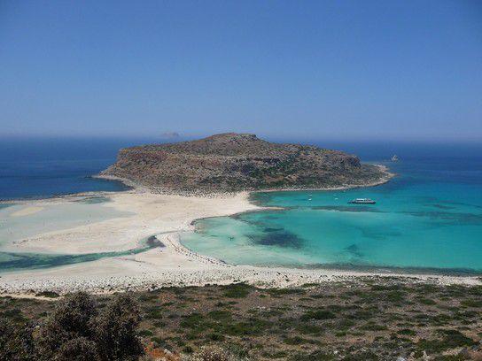 Balos Beach, Kreta, Griechenland