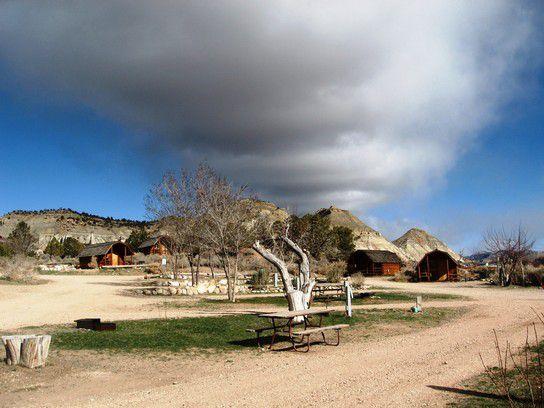 Campground Bryce Canyon, Utah