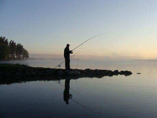 Schweden am sehr frühen Morgen