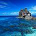 Klares tropisches Meer