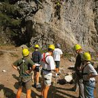Kletterer im Kleinwalsertal