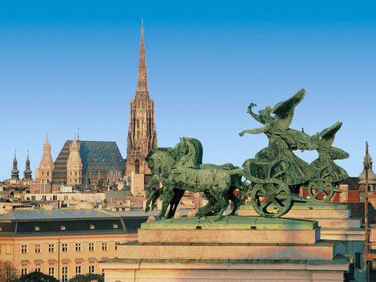 Blick auf den Stephansdom, Wien