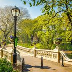 Bow Bridge im Central Park in Manhattan