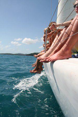 Sailing, Whitsunday Islands