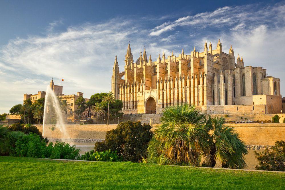 Die Kathedrale La Seu in Palma de Mallorca