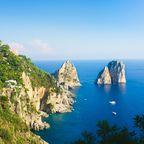 Capri Faraglioni rocks