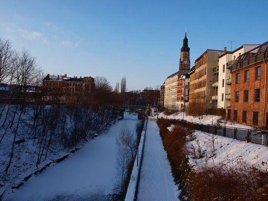 Winterzeit in Leipzig