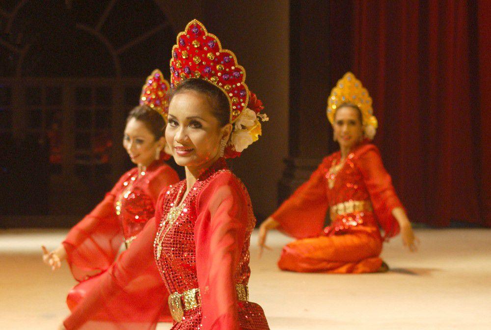 Traditionelle Tänzerin