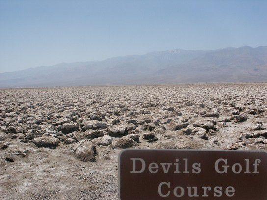 Devils Golf Course, Death Valley, World
