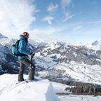 Panoramaaussichten mit den eigenen zwei Brettern oder bequem mit der Bergbahn