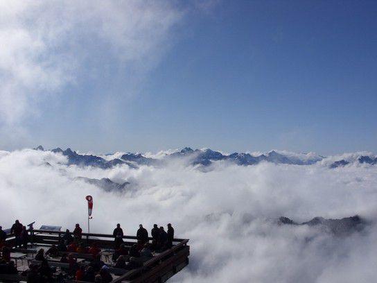 Sitzplatz in den Wolken