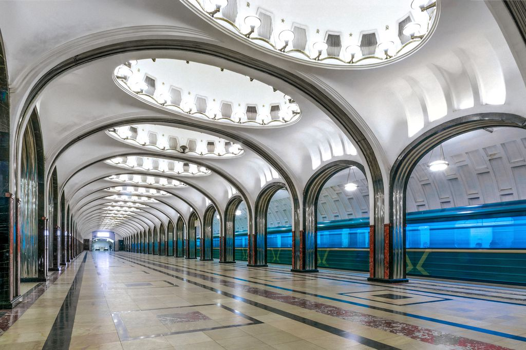 Metrostation Mayakovskaya
